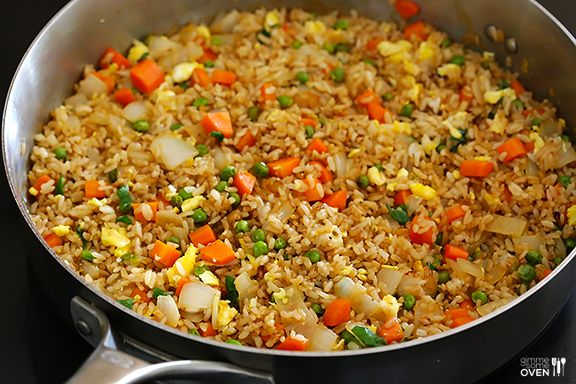 Fried rice recipe restaurant frozen and eggs fried rice fried rice with eggeasy ccuart Images
