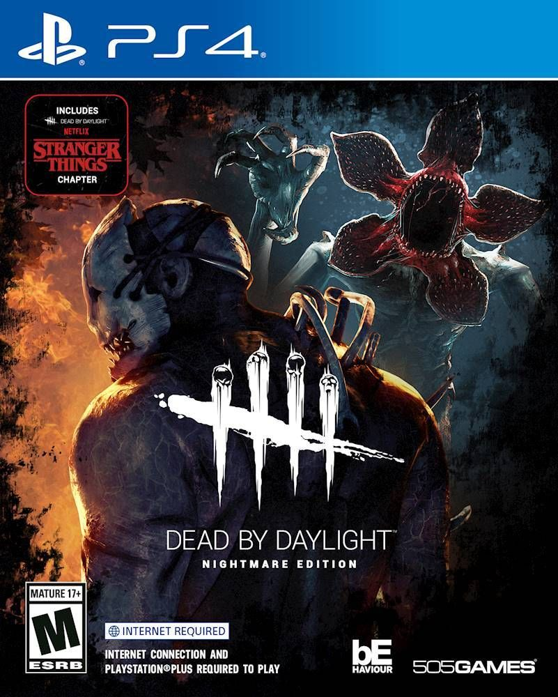 Dead By Daylight Nightmare Edition Playstation 4 71501984 Best Buy In 2020 Xbox One Horror Game Nightmare