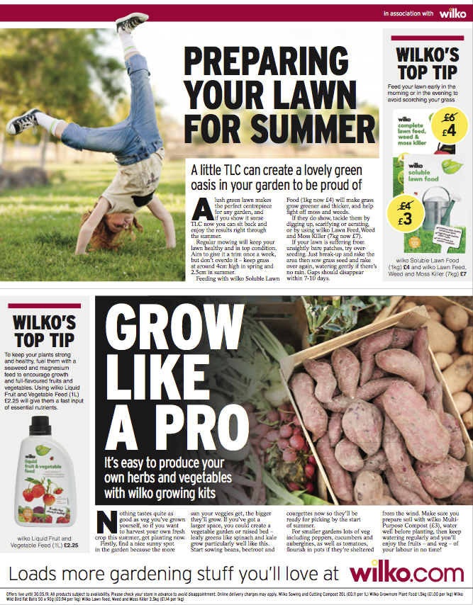 Wilko X Daily Express 4 Page Pullout Page 4 4 Wilko Preparation Senior Project
