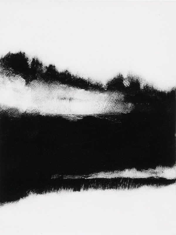 Tekla McInerney(American) In the midst of I  monotype