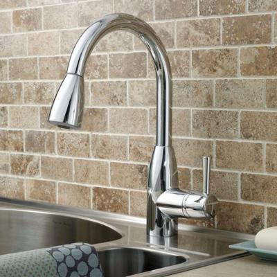 American Standard Fairbury Single-Handle Pull-Down Sprayer Kitchen ...