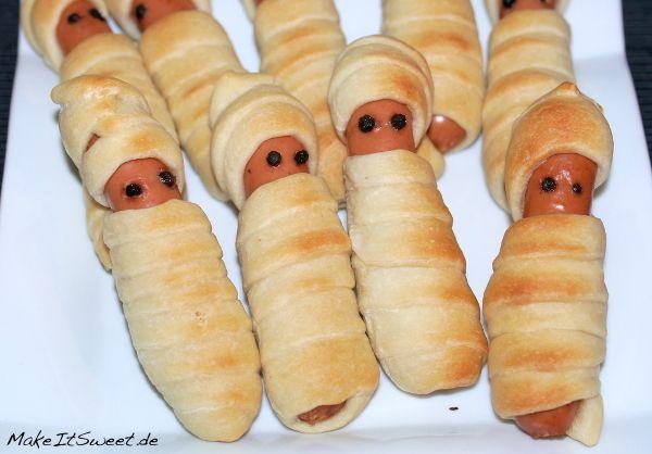Mumien Für Halloween Rezept Leckere Rezepte Von Makeitsweetde
