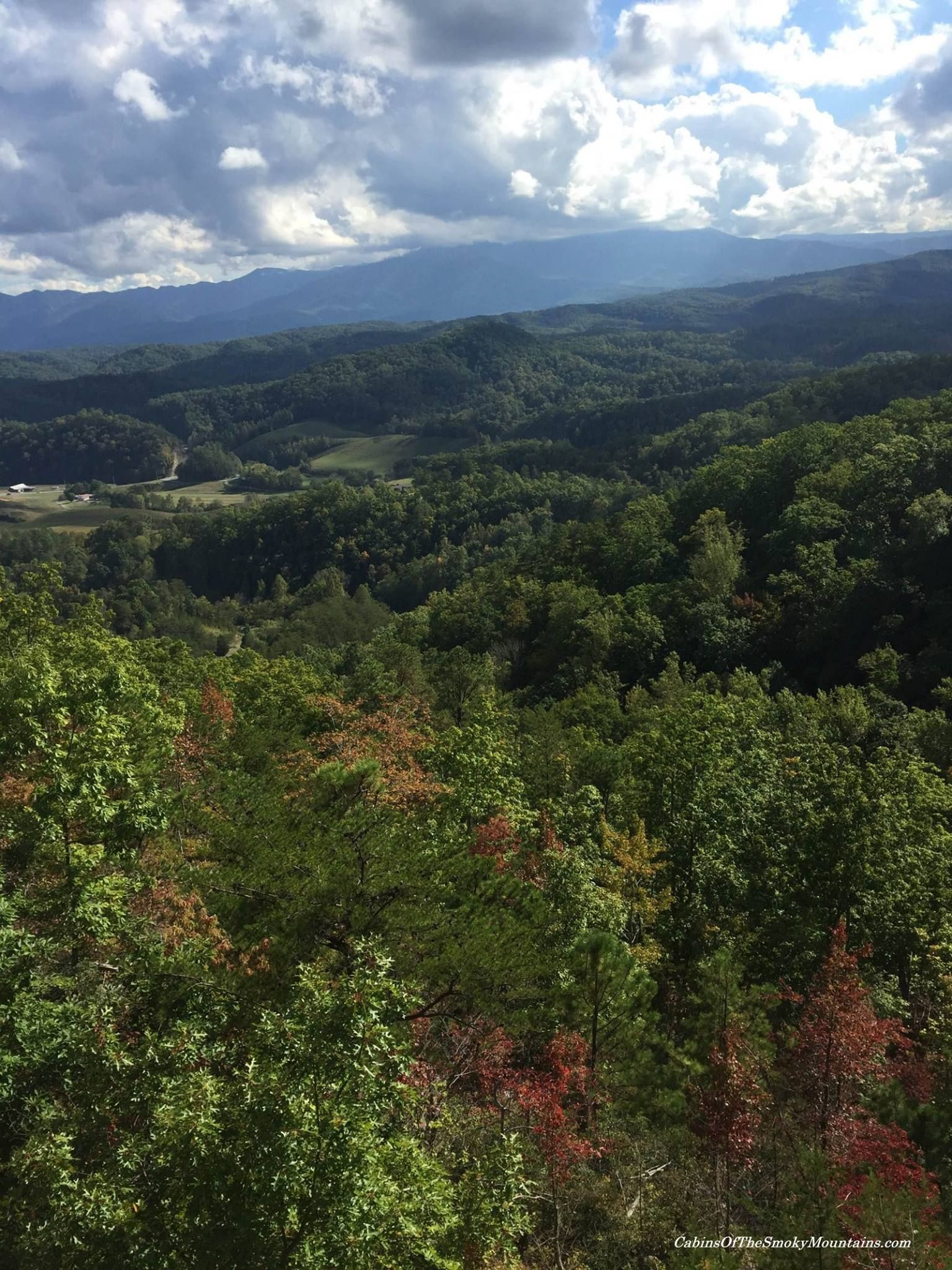 the view from legacy mountain resort, where we manage many cabins