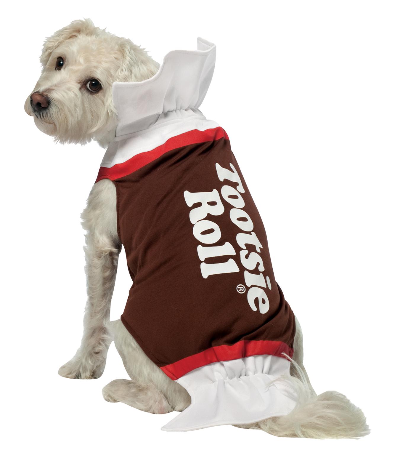 Pet Tootsie Roll Halloween Costume Cute Dog Costumes Pet