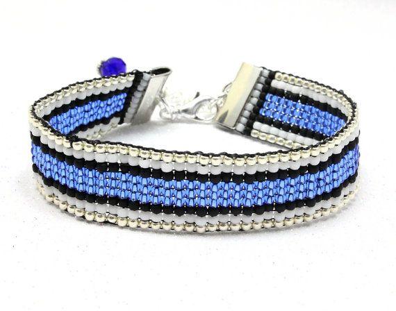 Support Law Enforcement Bracelet Custom By Nancyscrystalfantasy