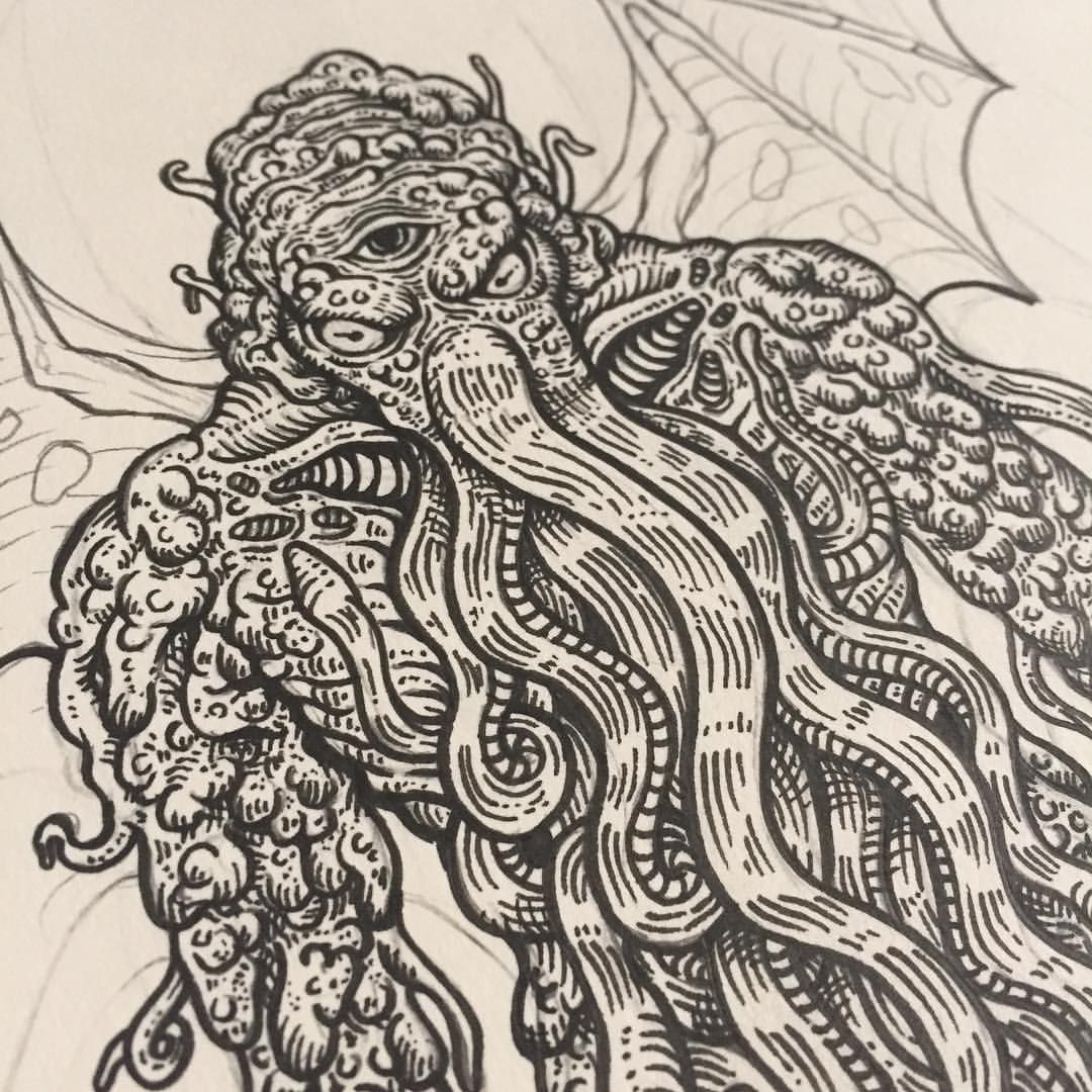 Man, i just realised that i ended up making a cthulhu x
