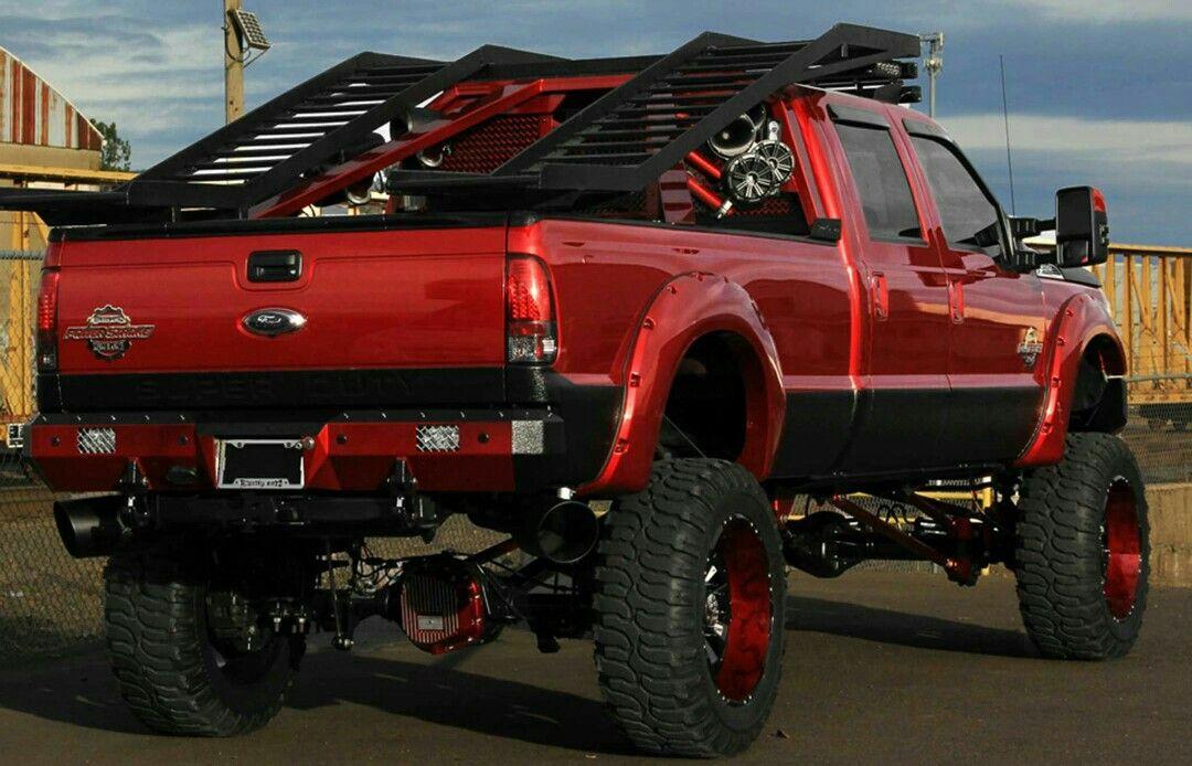 UTV rack pickup bed Trucks, Monster trucks, Rzr