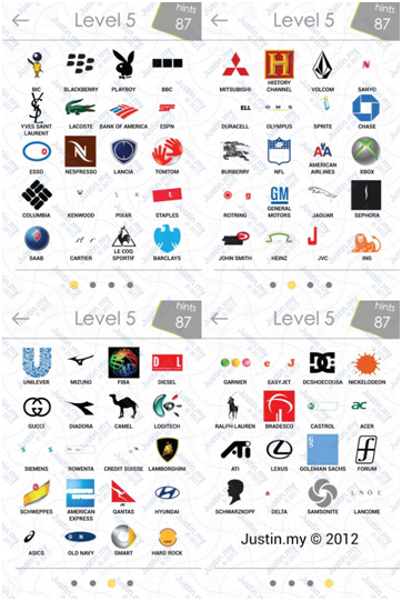 Logos Level 5 : logos, level, Android, Answers, Level, Quiz,, Answers,, Games