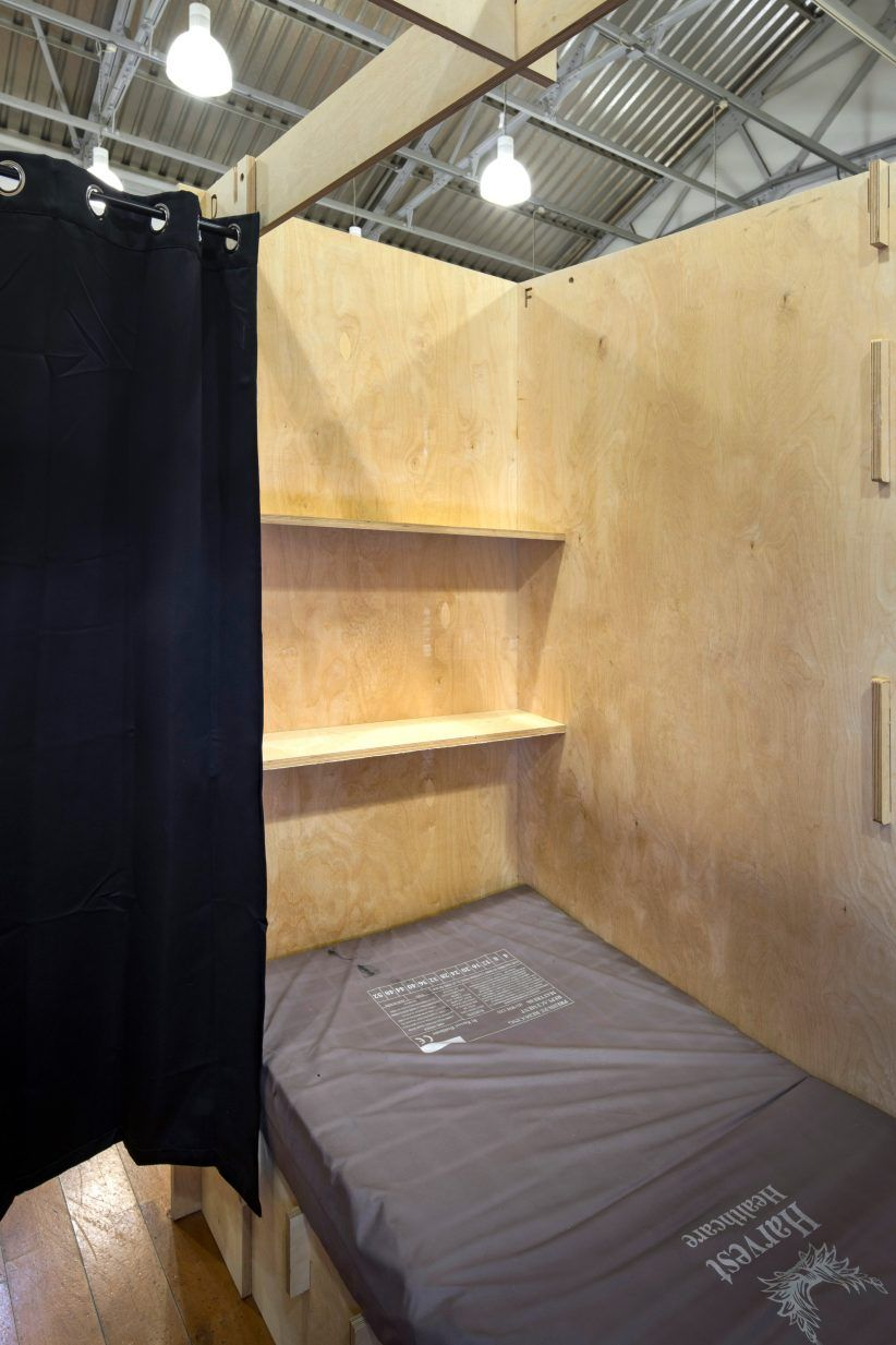 Commonweal Pods To Provide Beds For Homeless People London By Reed Watts Sleeping Pods Homeless Housing Tiny House Cabin