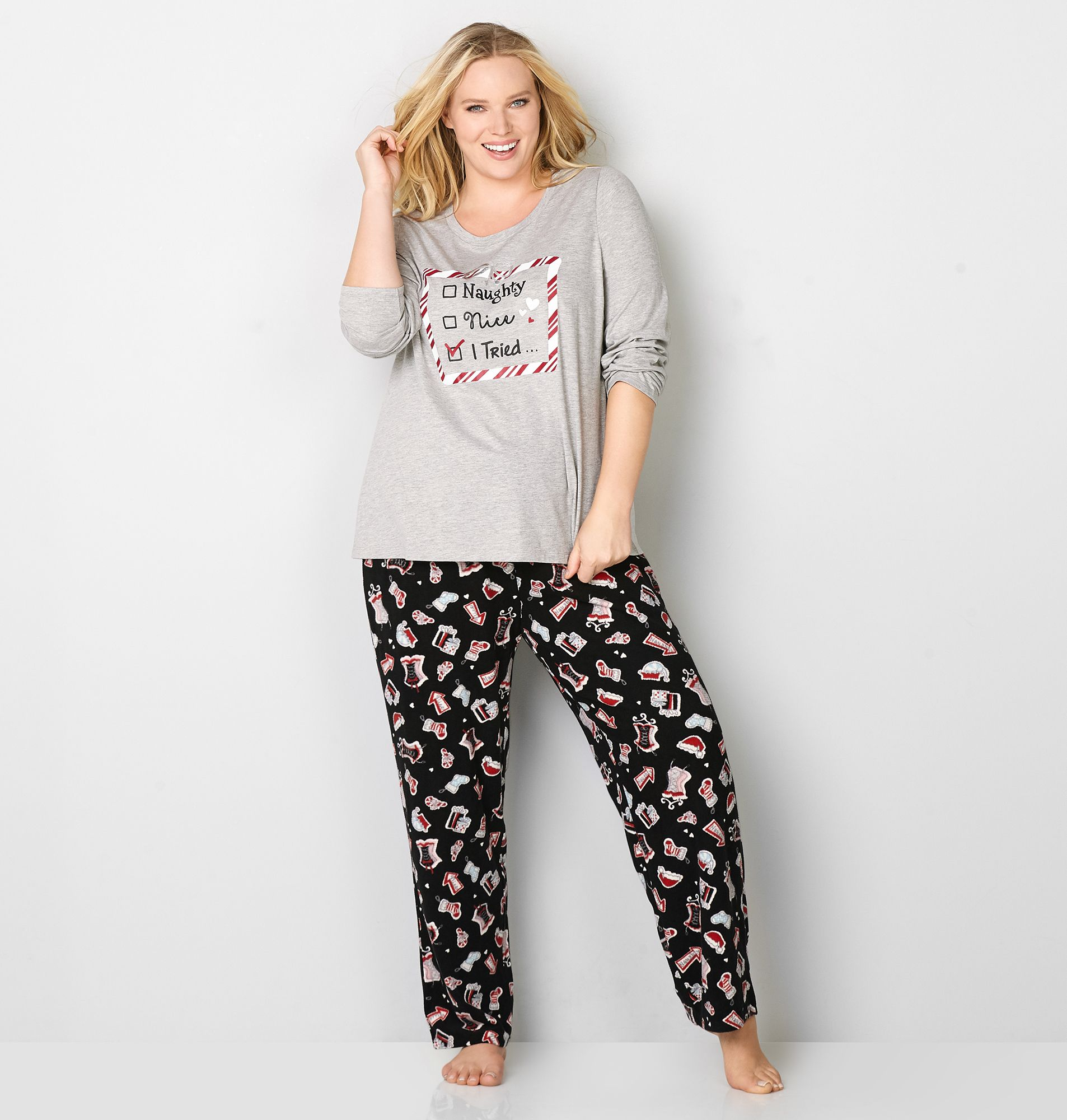 6b4802eade 17. New year eve pajamas for plus size women | Christmas Costumes ...