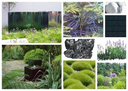 Aménagement extérieur et plan 3D de jardin Design et naturel ...