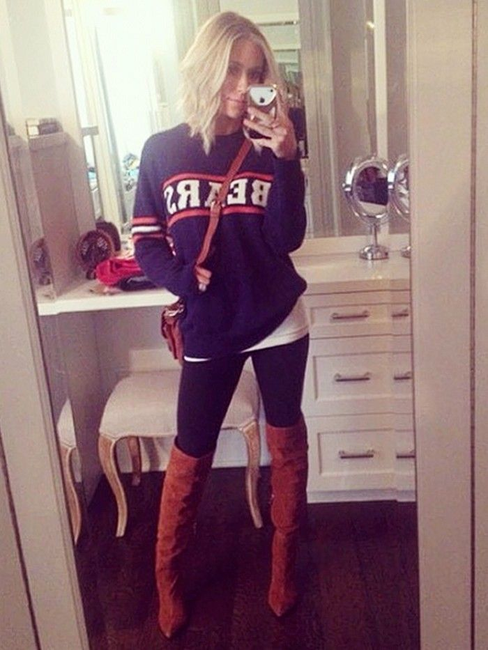 Kristin Cavallari via  WhoWhatWear Outfits For Football Games 25e096478