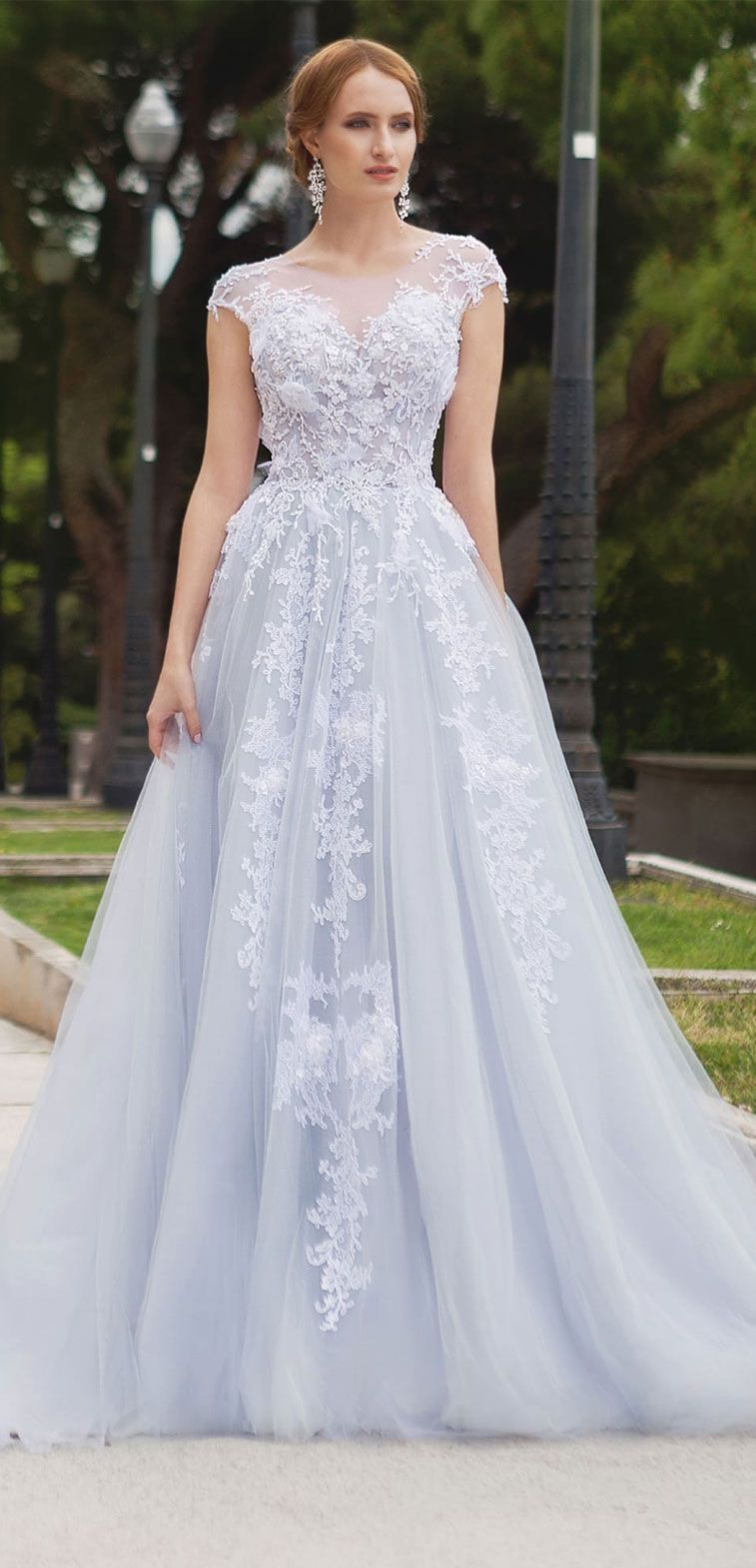 Classic Wedding Dresses With Pretty Details