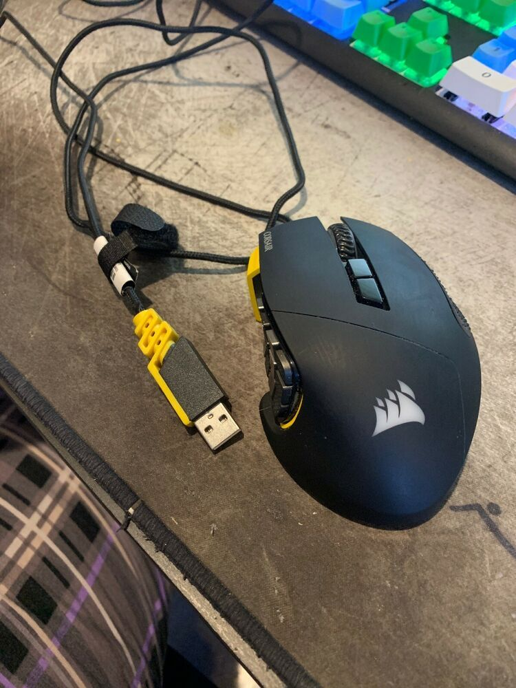 CORSAIR - Scimitar PRO Wired RGB Gaming Mouse for Fortnite