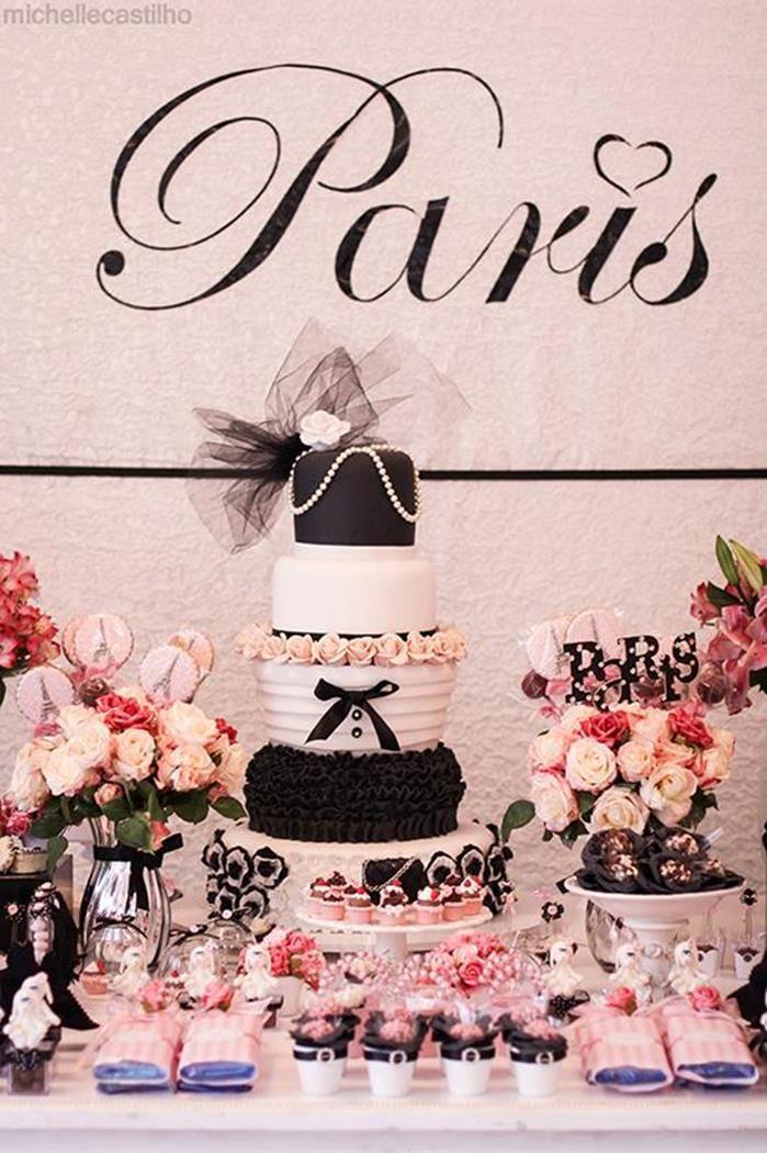 Paris Party Paris birthday parties Paris birthday and Pink paris