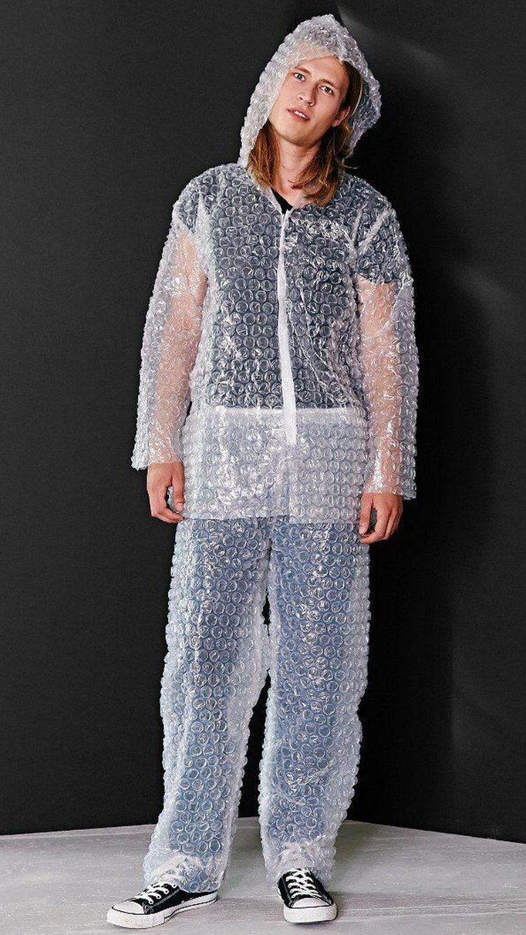 Yikes A Bubble Wrap Suit Yikes Costumes