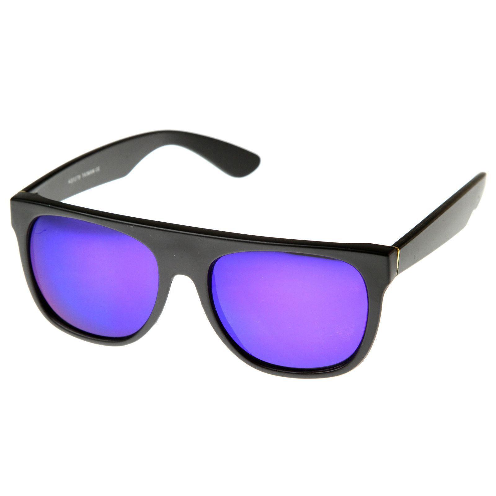 8d9fdc67c7 Celebrity Kid Cudi Super Flat Top Revo Mirrored Lens Sunglasses 8090 ...