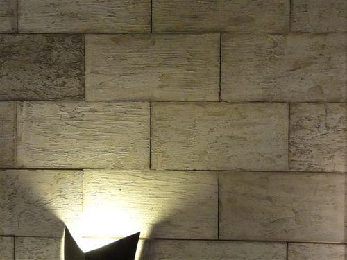 Dale un toque diferente a la pared de tu living!! - concretoarttigre - paredes de cemento