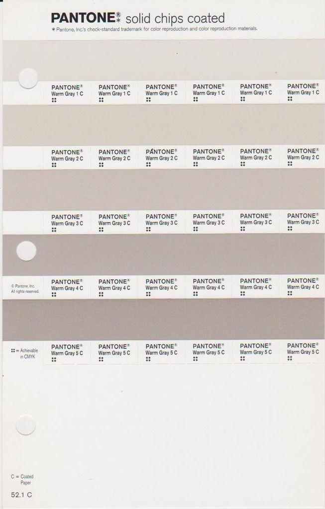 warm greys pantone colori palette pms cool gray 8c 444c