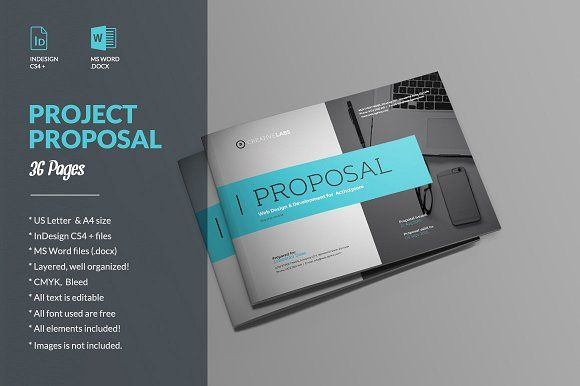Proposal Proposals Brochure Template And Brochures