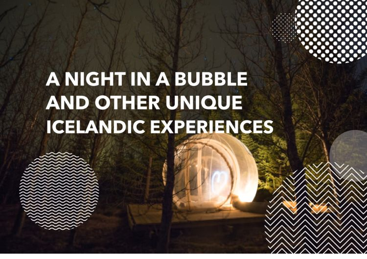 Iceland is home to some of the most unique travel experiences - including the new Bubble Hotel where you can spend a night among the stars!