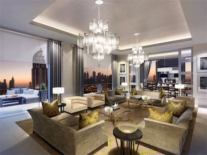 Progettiamo su misura anche elementi interni che impreziosiscono ulteriormente il progetto della villa:. Case Di Lusso A Dubai Foto My Luxury Home Luxury Homes Open Space Living