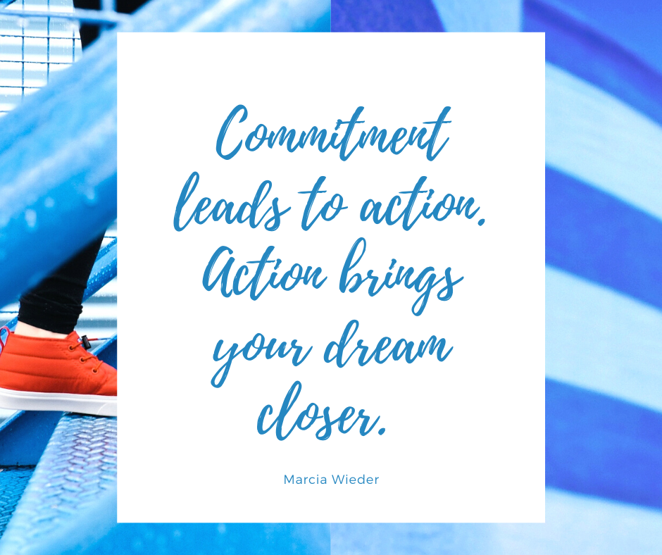 Commitment Leads To Action Virtual Assistant Services Cold Calling Commitment