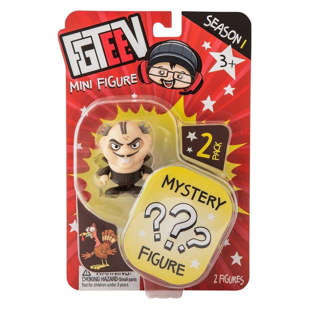 Fgteev mystery figure 2pk figure may vary mini figures