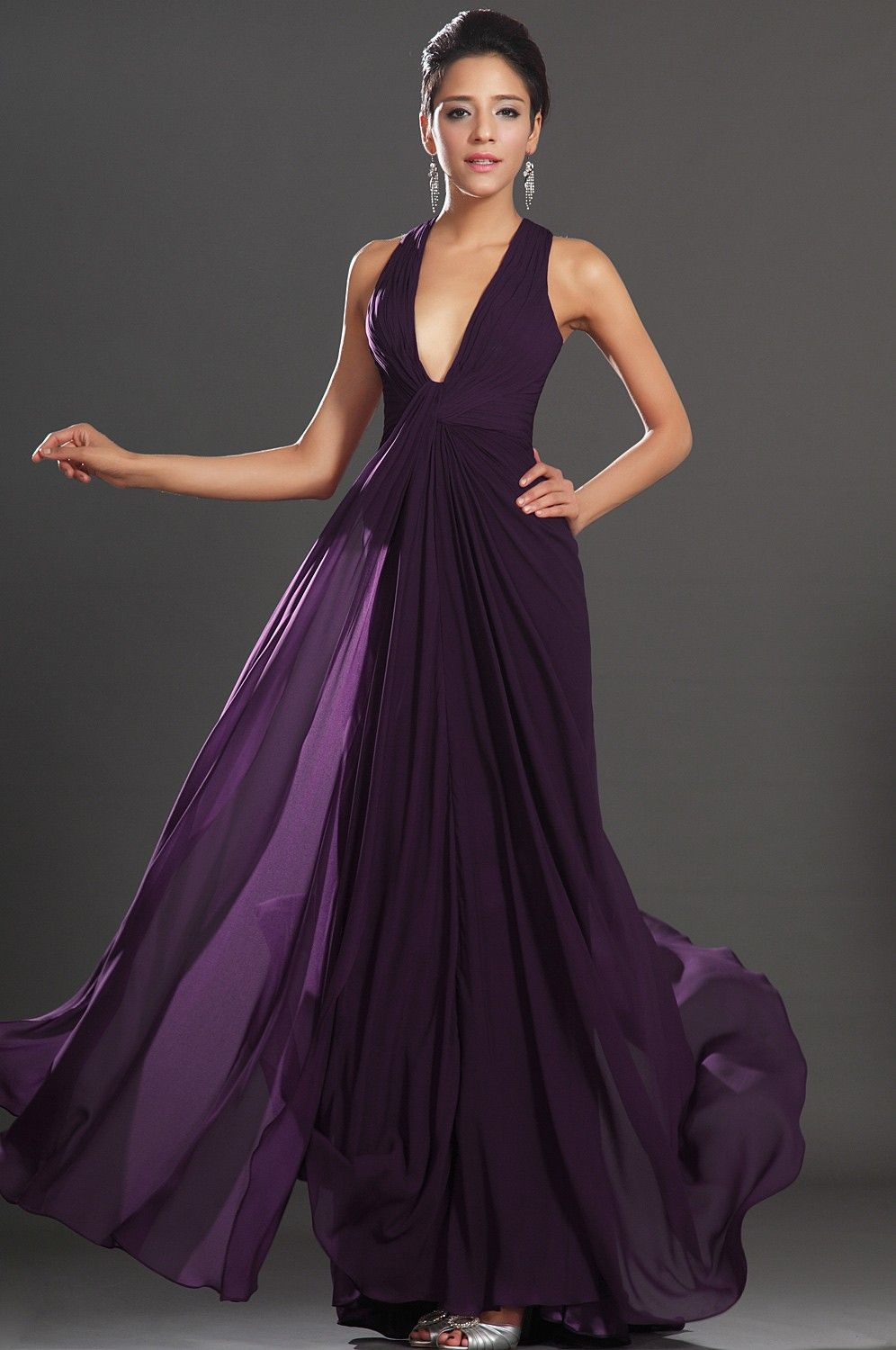 Beautiful-Purple-Evening-Gowns- | Evening Gown | Pinterest | Purple ...