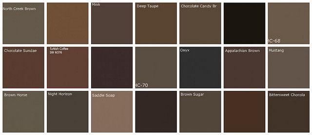 dark brown paint colors designers 39 favorite brands colors for the home brown paint colors. Black Bedroom Furniture Sets. Home Design Ideas