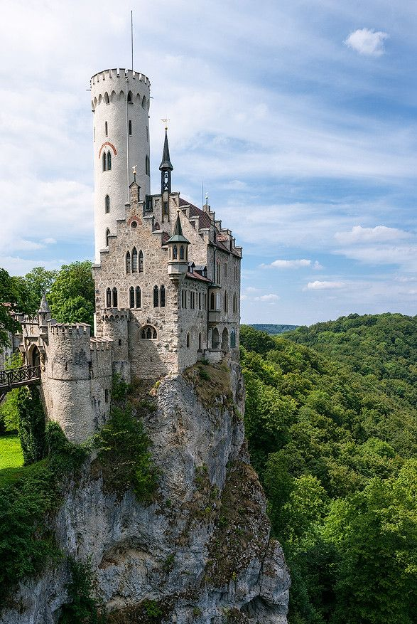 Lichtenstein Castle, Württemberg | Germany (by Juhani ...