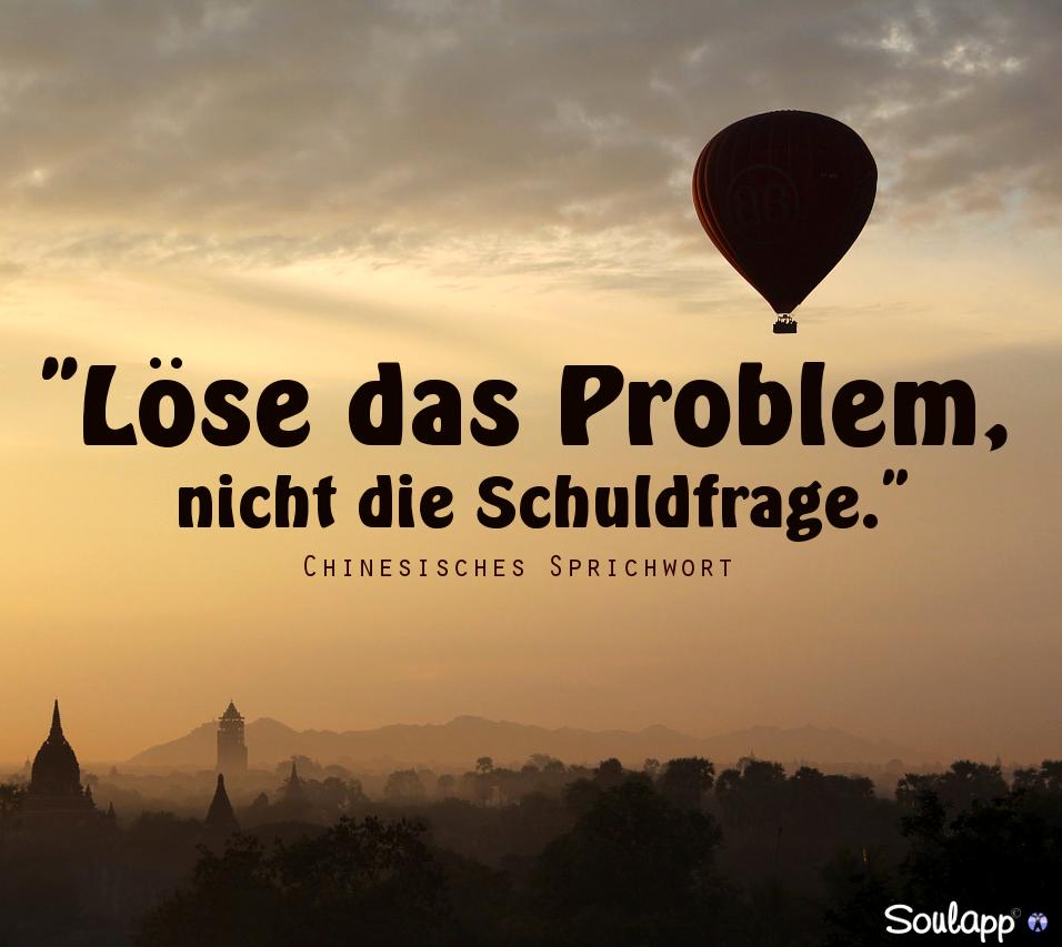 Löse das #Problem, nicht die #Schuldfrage.\
