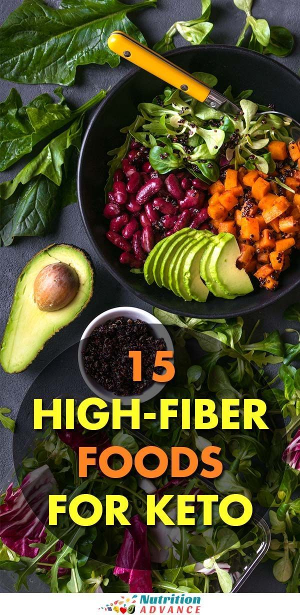 15 Low Carb Foods High in Fiber (With images) High fiber