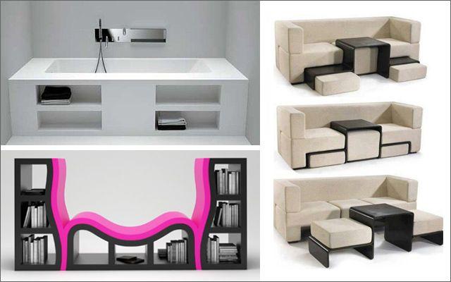 Decofilia blog mueble multifuncional para espacios - Muebles de salon para pequenos espacios ...