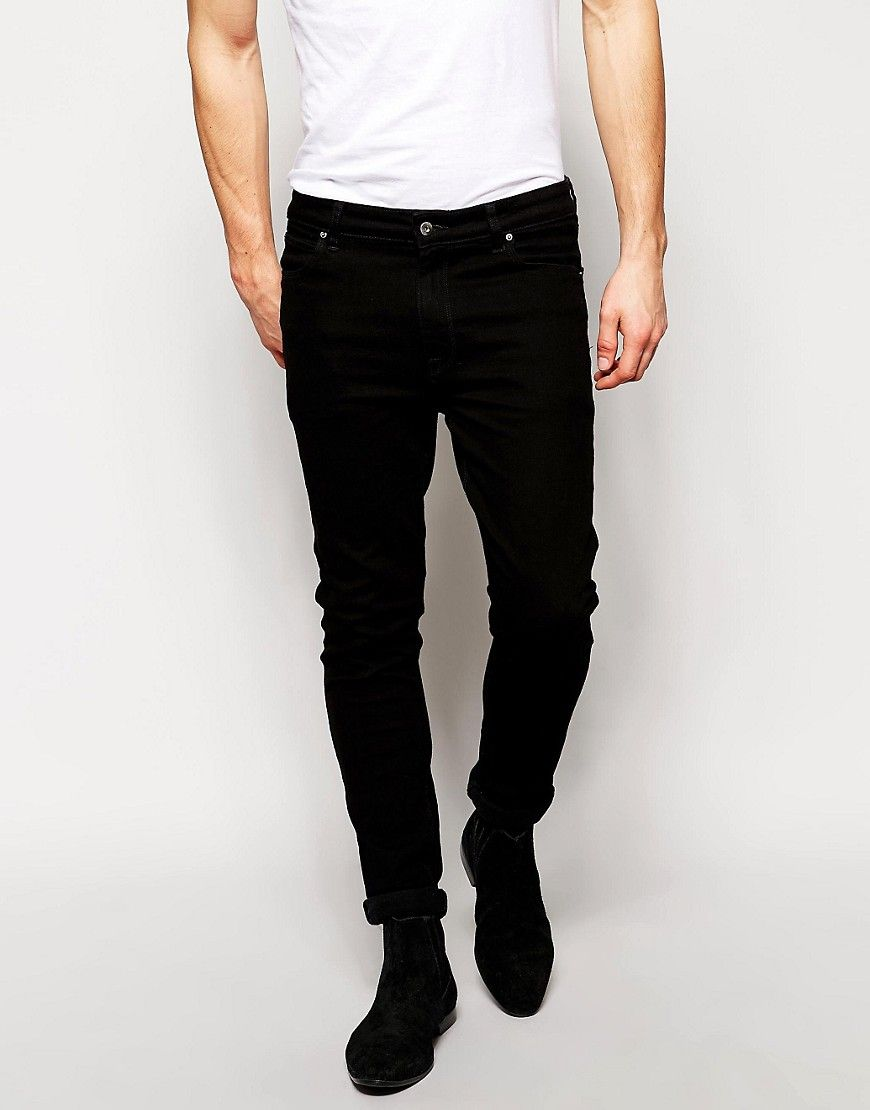 ASOS Super Skinny Jeans in Black | My Designer Desires | Pinterest ...