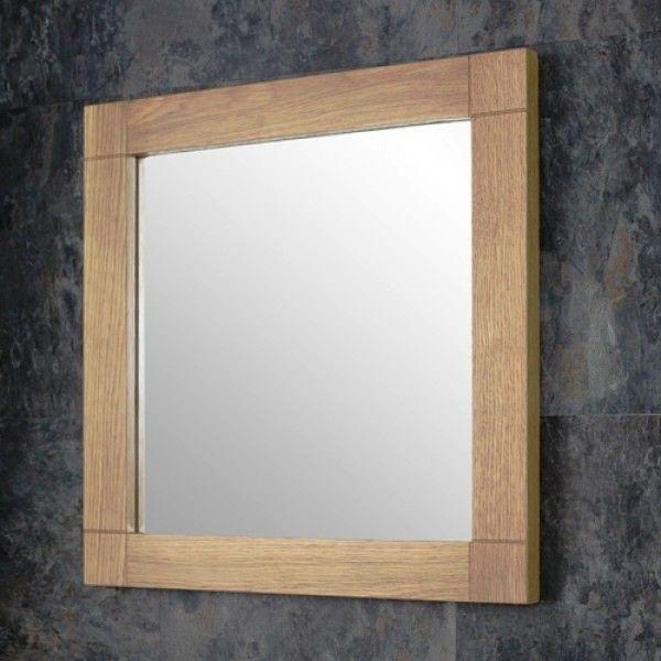 Oak Framed Mirrors Bathroom | mirror | Pinterest | Framed mirror ...