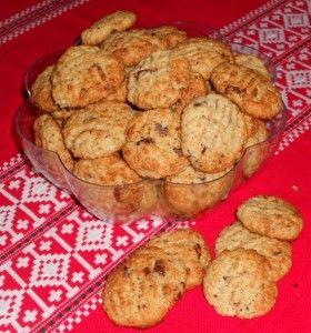 Arašidové sušienky s brusnicami (fotorecept) - obrázok 8