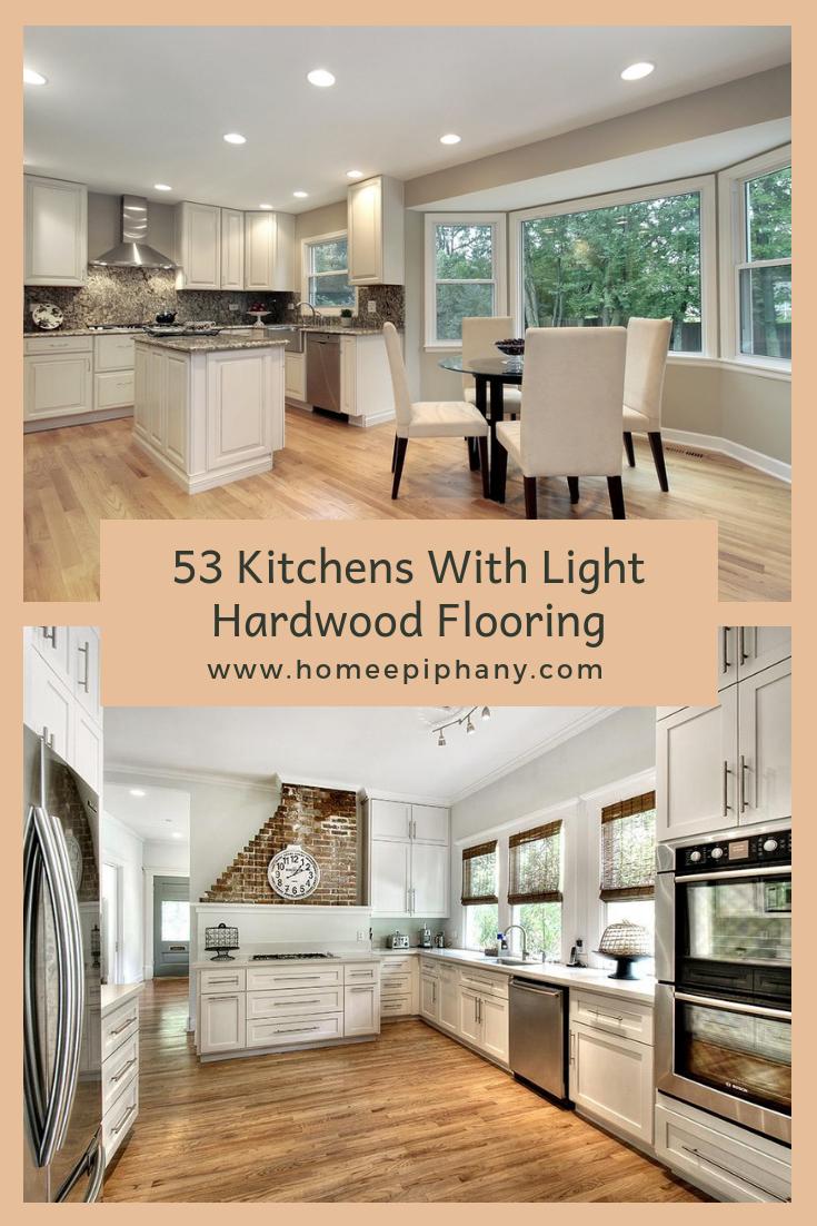 9 Charming Kitchens With Light Wood Floors   Light hardwood ...