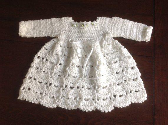 e8fb64855 Baby Dress Winter PATTERN 12 mths Janice
