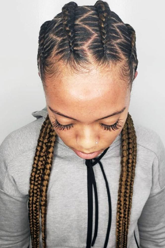 50 Cute Cornrow Braids Ideas To Tame Your Naughty Hair Braids For Black Women Cornrows Braids For Black Women Braided Hairstyles