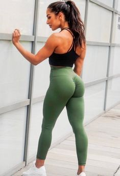 Hey do you need stretch leggings for your workout? Need some cool workout clothes? Get our high wais...