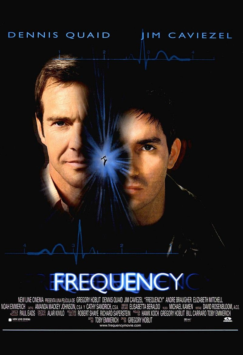 Frequency Dvd Release Date October 31 2000 Movie Posters Movie Tv Jim Caviezel