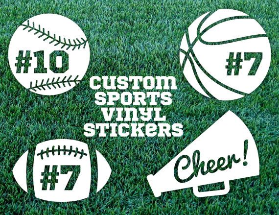 Custom Sports Vinyl Sticker Baseball Vinyl By StarCityDesigns - Custom vinyl baseball decals