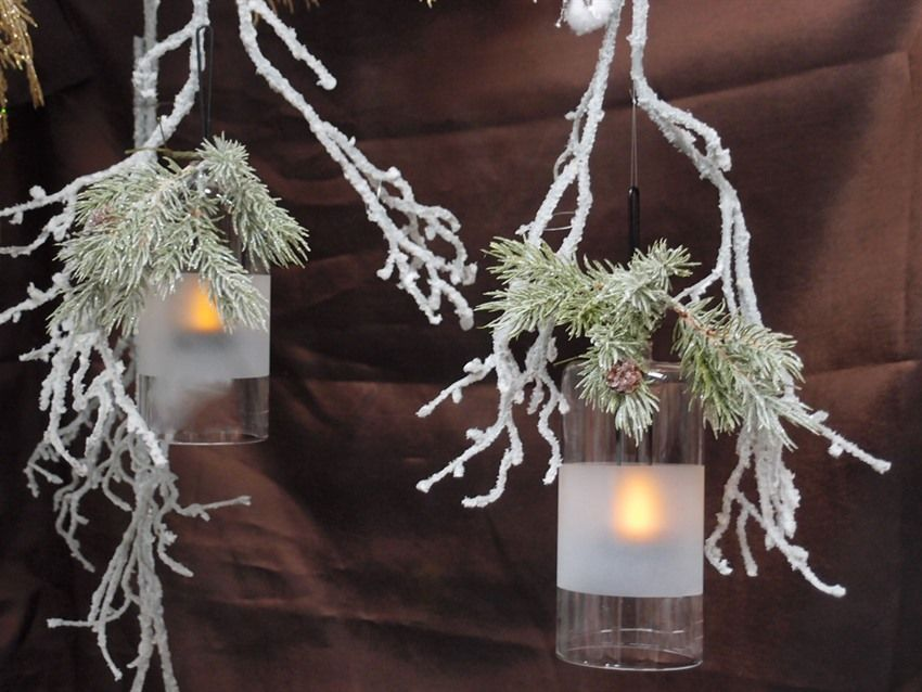 Très Idee creative per vetrine natalizie online fai da te. Lanterne  OJ36