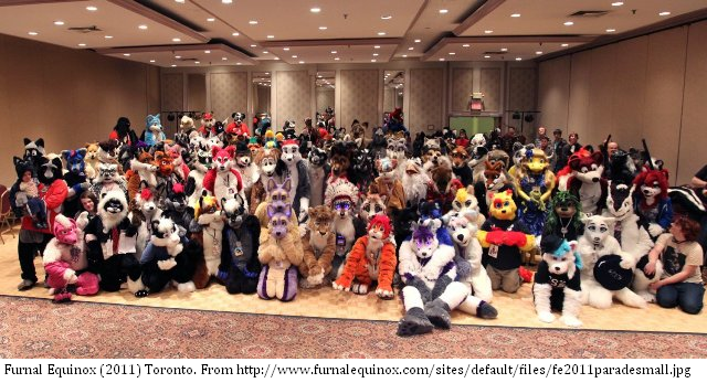 Here's a peek inside a 'Furry' convention from a Canadian PhD student. #