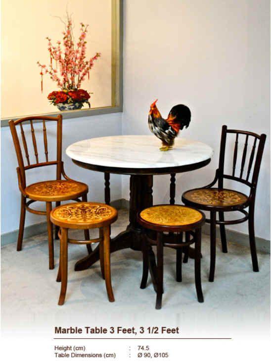 1 Dining Set Www Limtecklee Com Round Marble Table Dining Table Marble Round Marble Dining Table