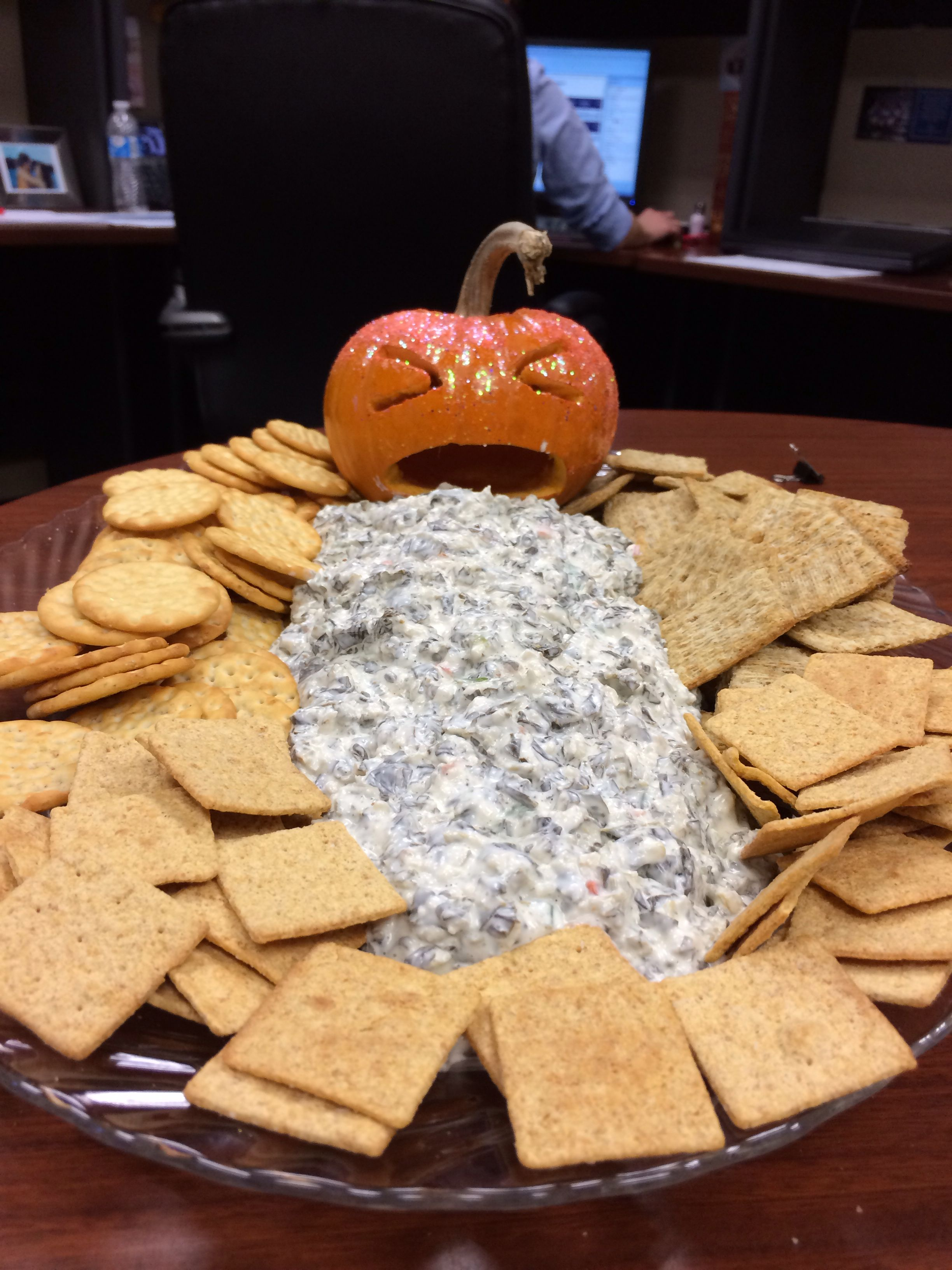 Halloween food for a work potluck! Food, Cooking recipes