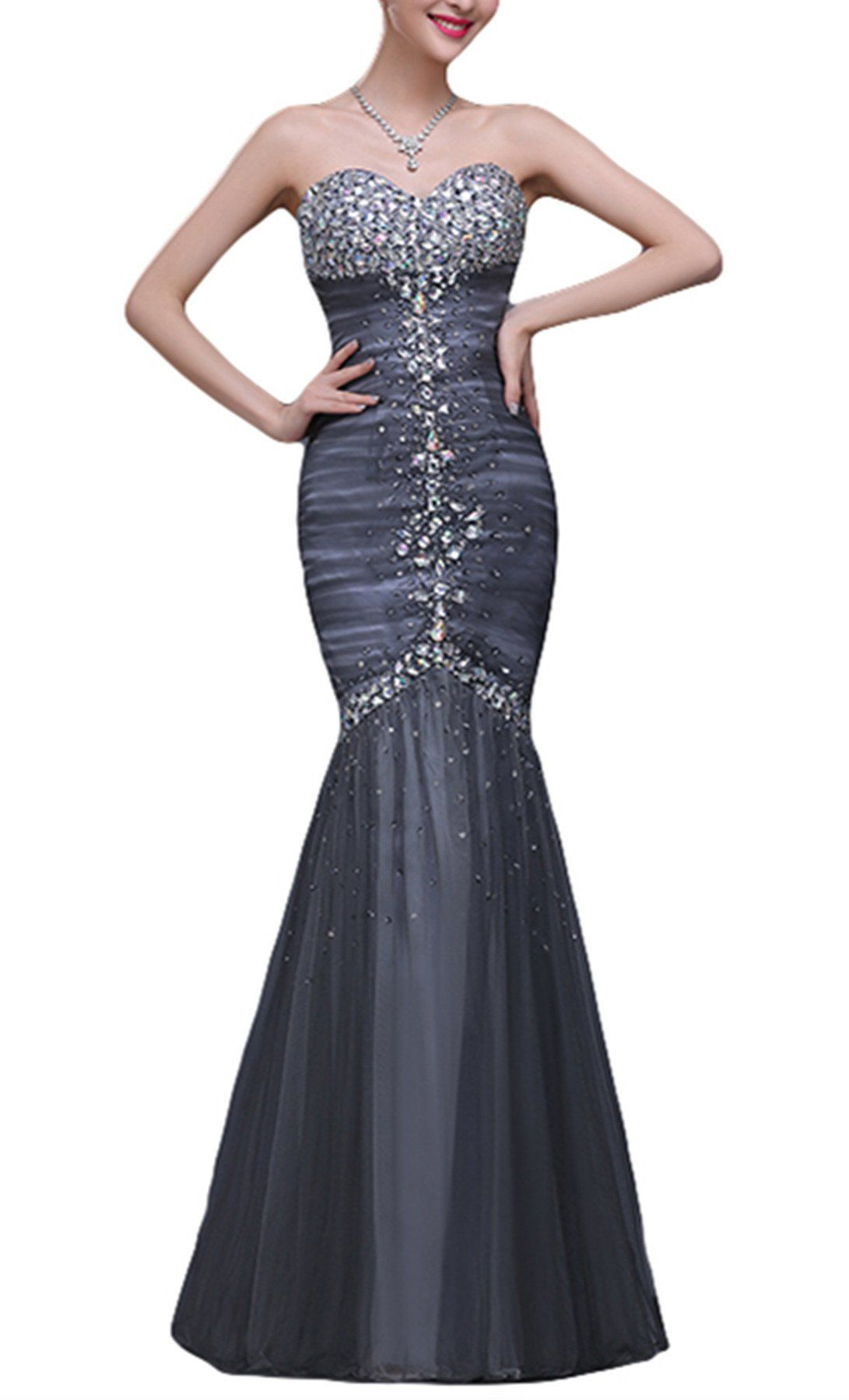 Limatry women long section of highend fashion fishtail prom formal
