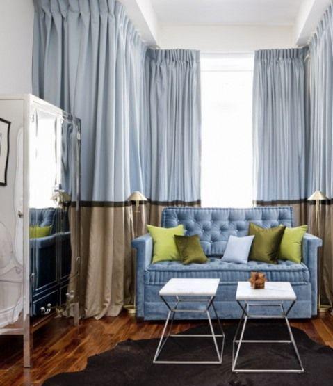 cortinas bicolor