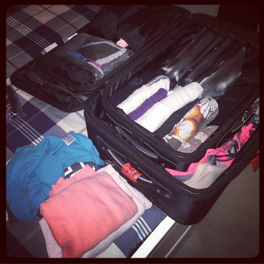 """""""All Packed And Ready To Go....Phoenix I'll See You In The"""